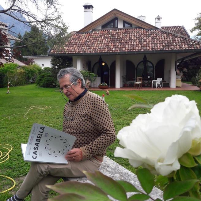 Il titolare Geom. Sergio Barzon